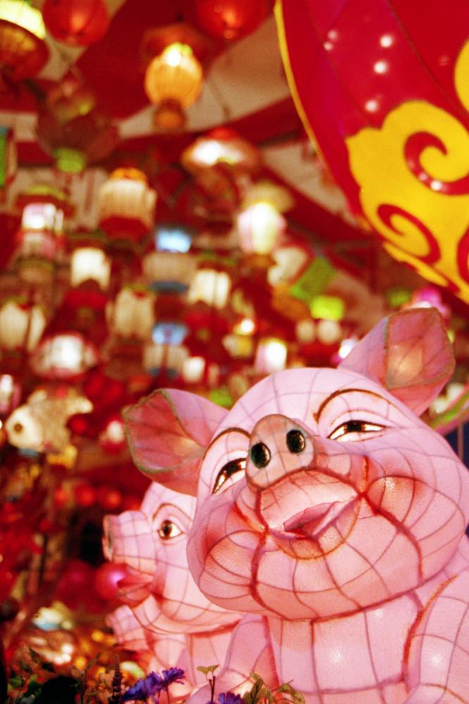 立春1--豬賜大吉  笑談己亥 吃年菜