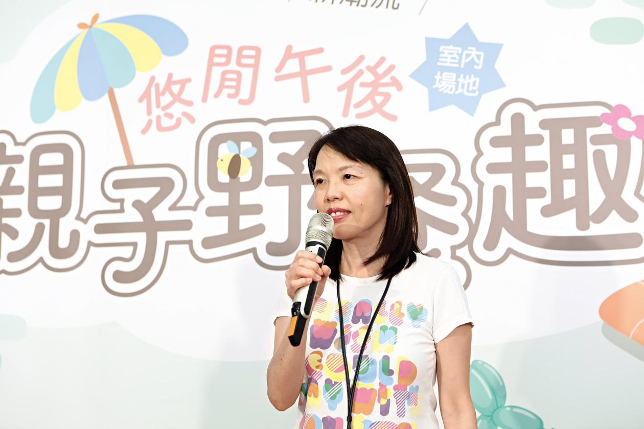鄧懿貞社長談孩子的獨立自主與懂得分享