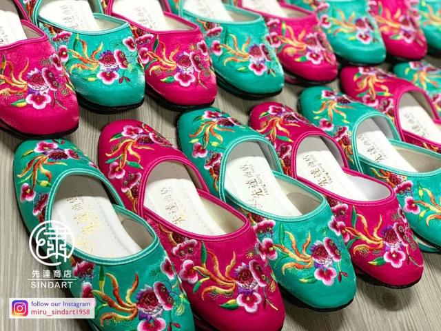 一雙繡花鞋 見證人生重要時刻