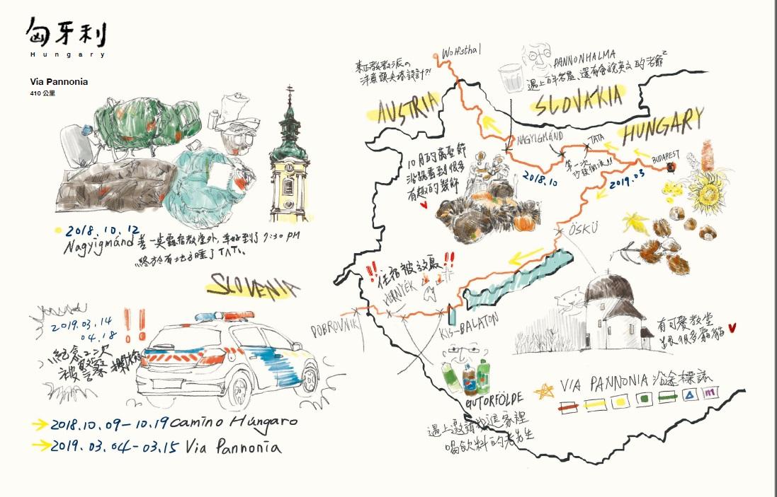 3500公里的相遇  鴨寶的朝聖之路