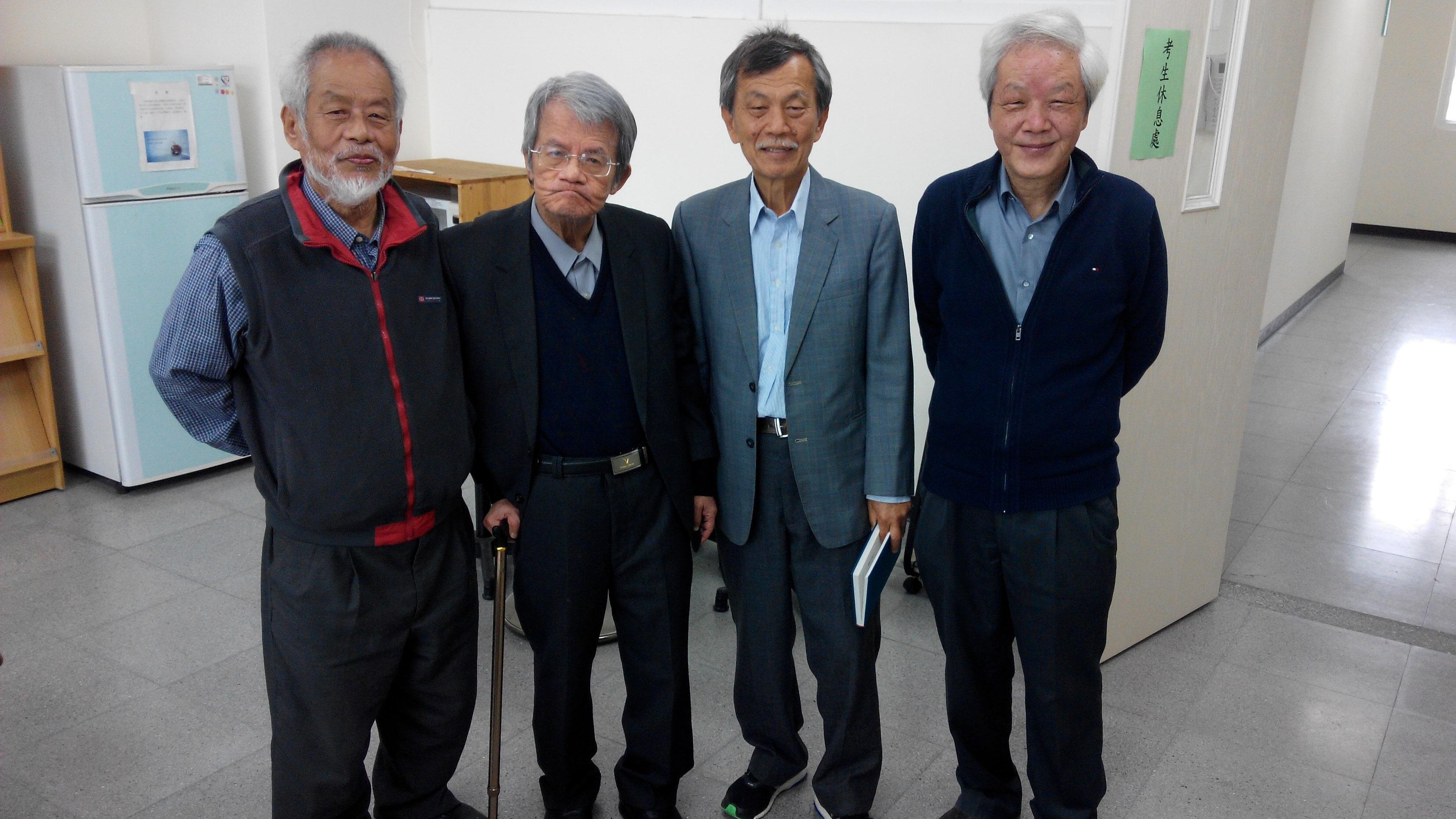 作家向陽 談台灣現代詩壇的孤岩   白萩