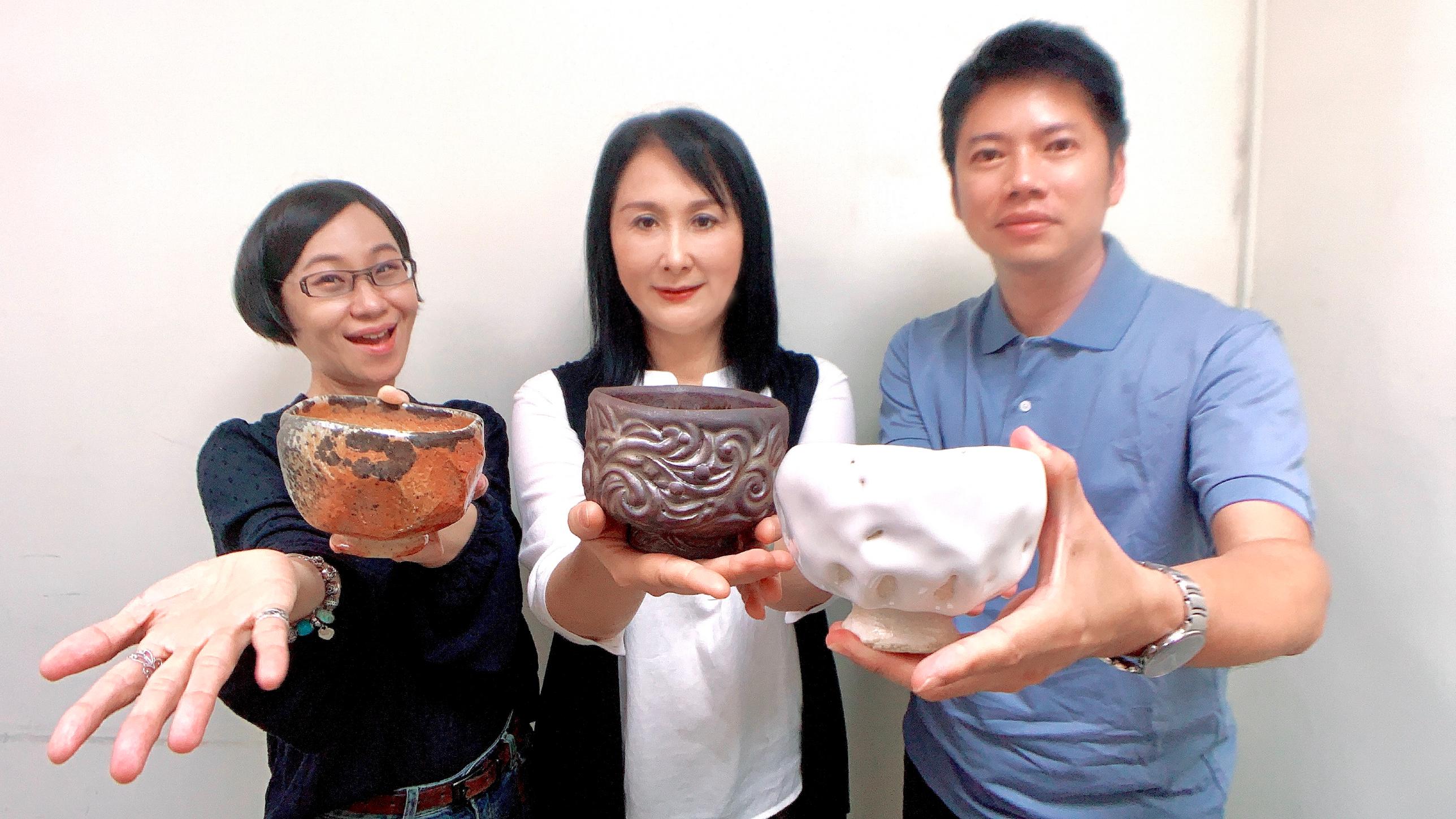 楊晴晴陶藝師:雪藏志野茶碗的白色旋風