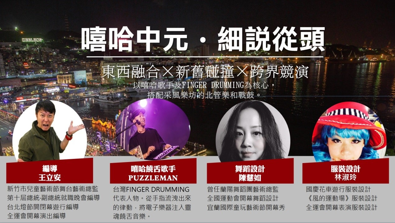 2020庚子鷄籠中元祭主題演出-嘻哈中元