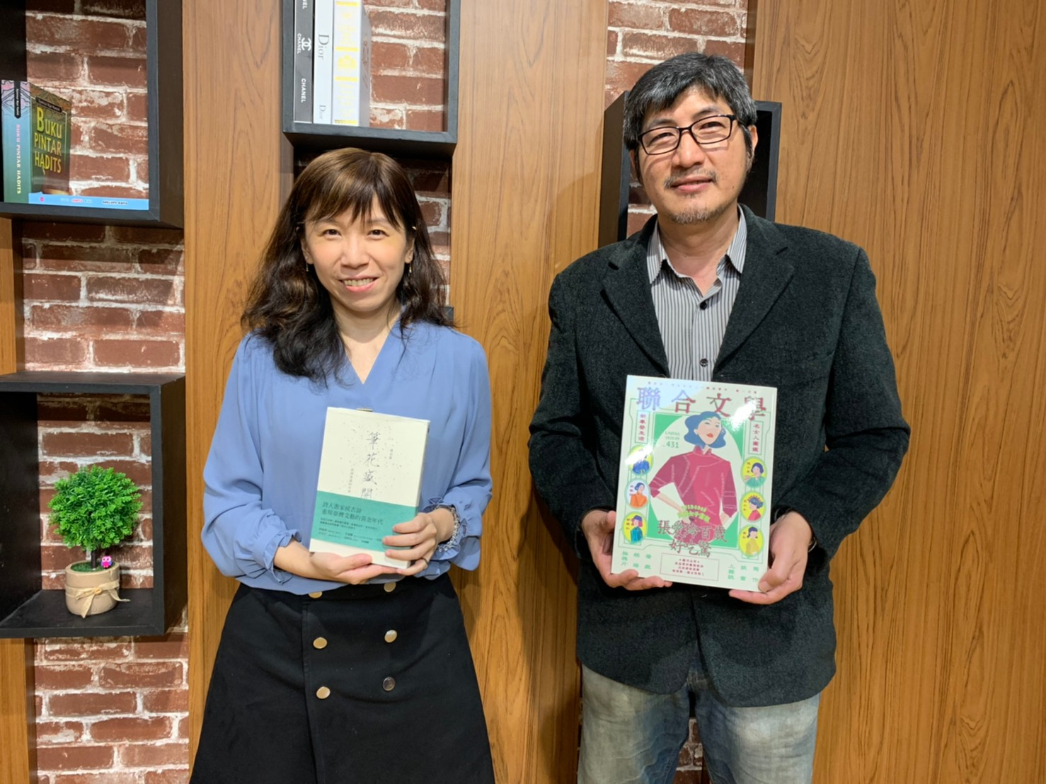 迎向數位浪潮的聯經出版公司總經理 陳芝宇