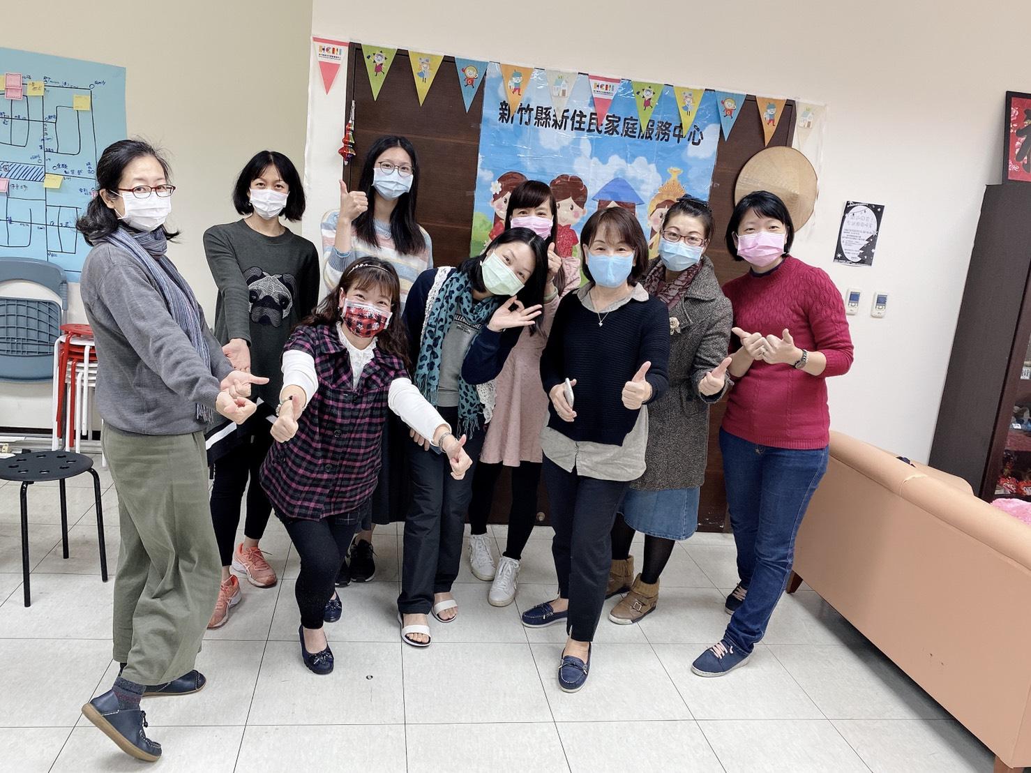 分享新住民朋友在台灣在客庄「遇見美好人生」的故事