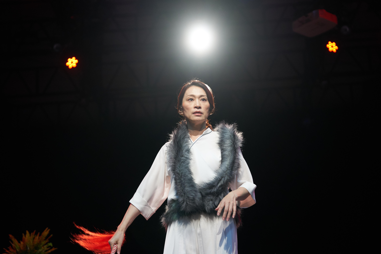 京劇名伶朱安麗 一