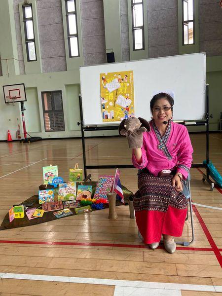 新(心)泰美泰語教學老師陳菈雯,讓大家看見多元文化之美