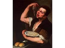 畫裡的美食-吃義大利麵的人 客家經典料理的半壁江山-四炆