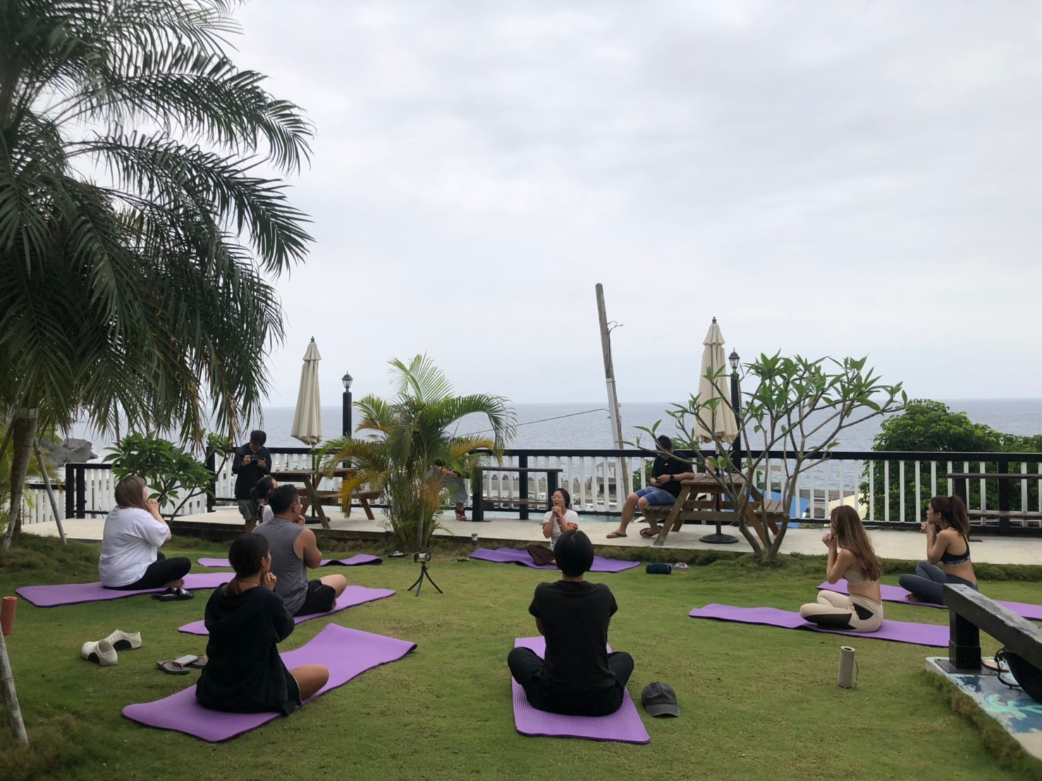 小琉球養生旅遊 呼吸訓練 伸展按摩