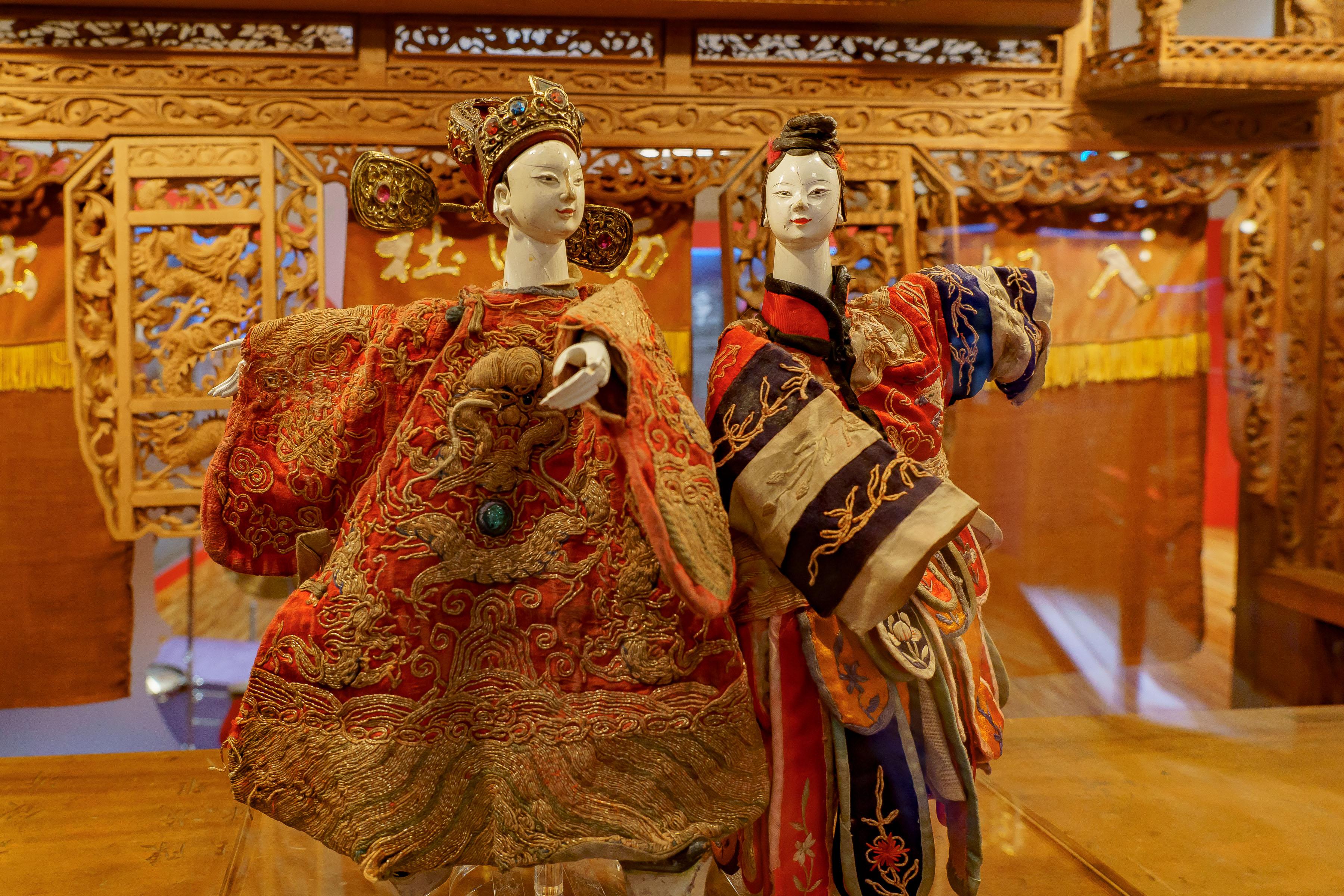 臺博館復甦傳統文化  百年戲偶展新象  布袋戲風物展