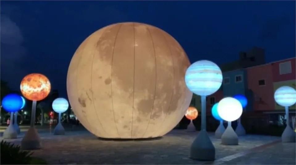 亞洲秋祭、臺灣宜蘭月球裝置藝術、金門博狀元獎梅花鹿