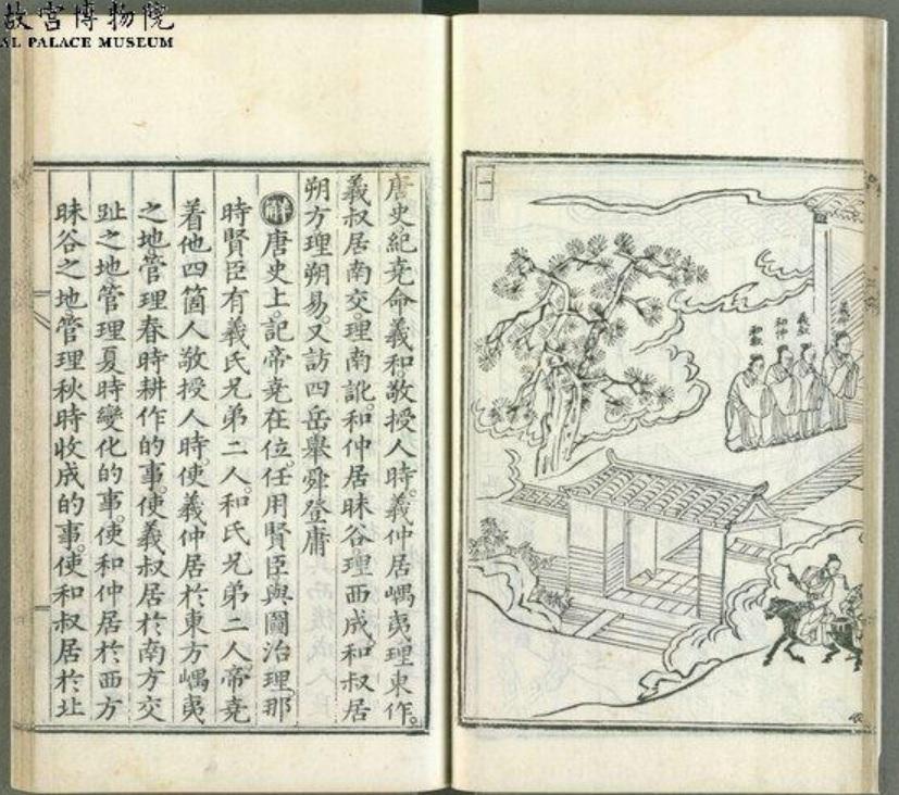 開箱台北故宮系列:皇帝上學去,打造帝王的教科書~明朝帝鑒圖說