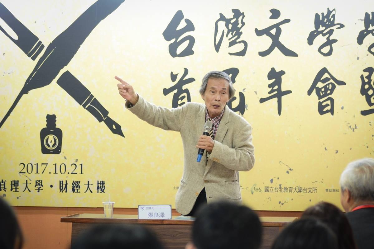 作家向陽 談台灣文學的守護者張良澤
