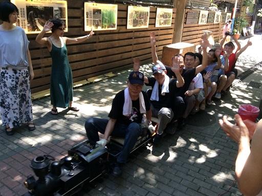 與「火車達人」林松雄老師共圓童年鐵道夢