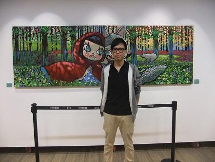 王信明「童年森林」展