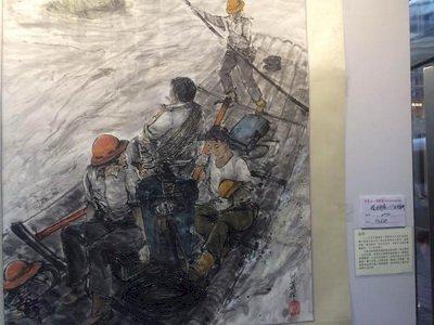 電桿上的素人畫家 李升茂看見台電