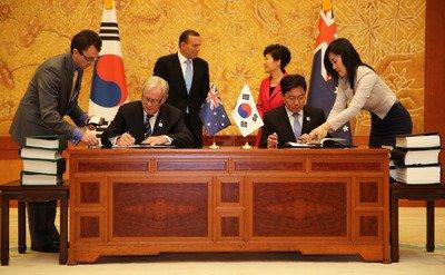 澳韓日談FTA 經貿連橫新戰局