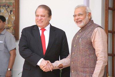 印巴總理劃時代會談 外交破冰引關注