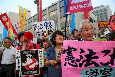 安保政策大改變 日本集體自衛權解禁