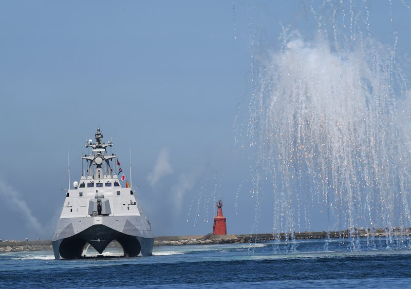 購置沱江艦 海巡:展現護衛海疆決心