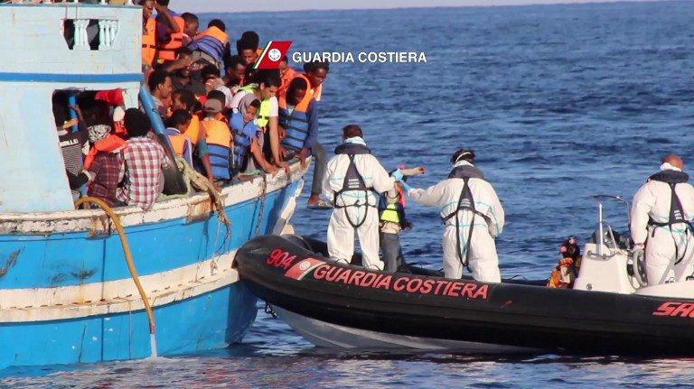 阻難民潮 歐盟限制對利比亞售充氣艇