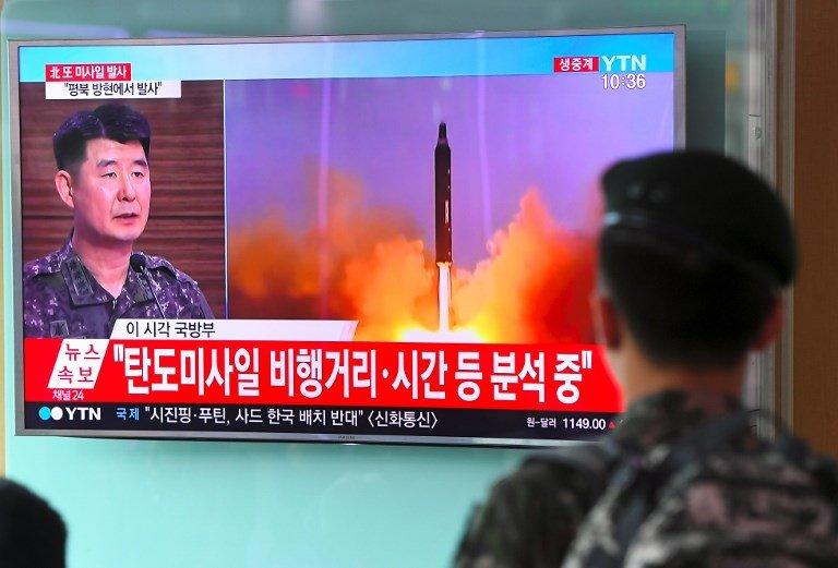 韓聯社:北韓似將再試射飛彈