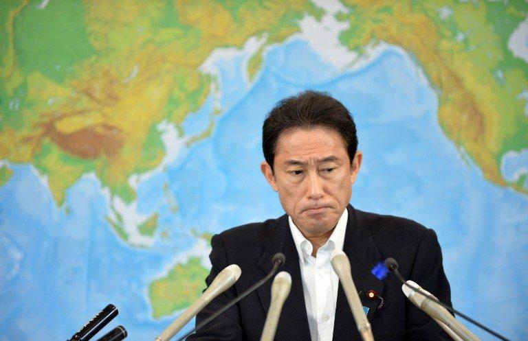 日本首相之爭 前外相岸田對減稅態度保留