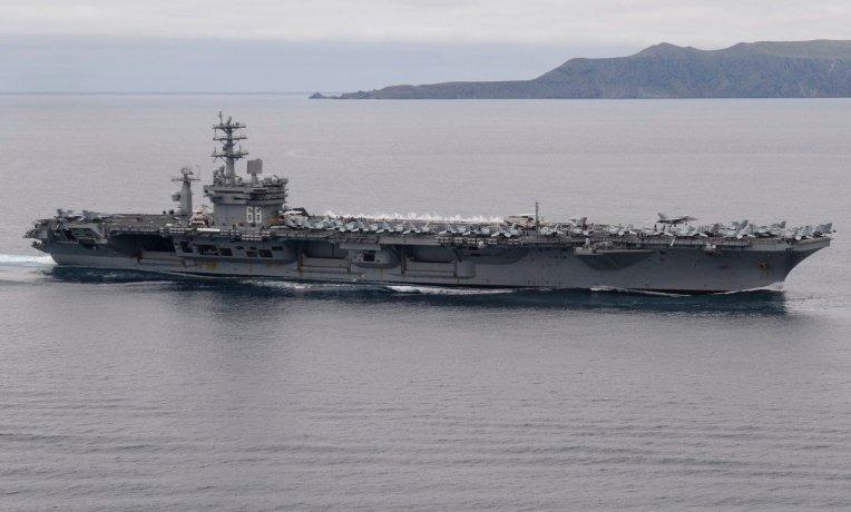 美國第四艘航母染疫 尼米茲號1船員確診