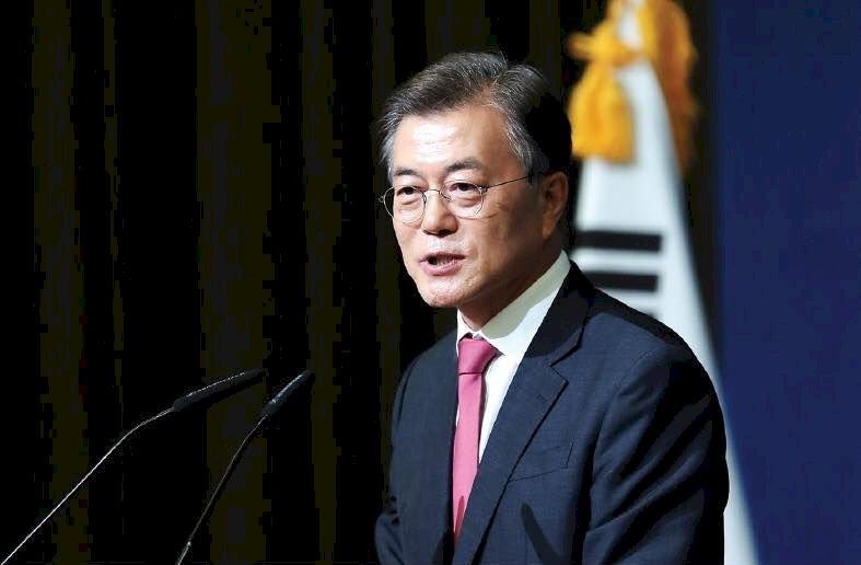 文在寅:佈署美戰略武器有助遏阻北韓