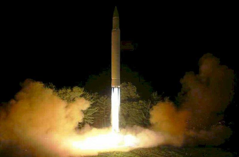 不滿美制裁 北韓:試射洲際飛彈是警告
