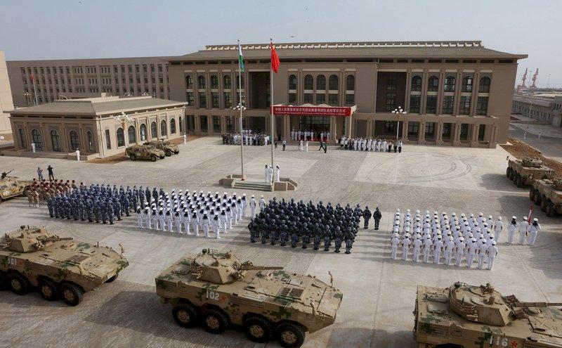 停泊潛艇、航母! 中國企圖在非洲西岸 建立大型軍港