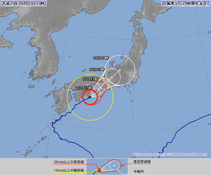 輕颱諾盧將橫掃日本 台北今上看38度高溫