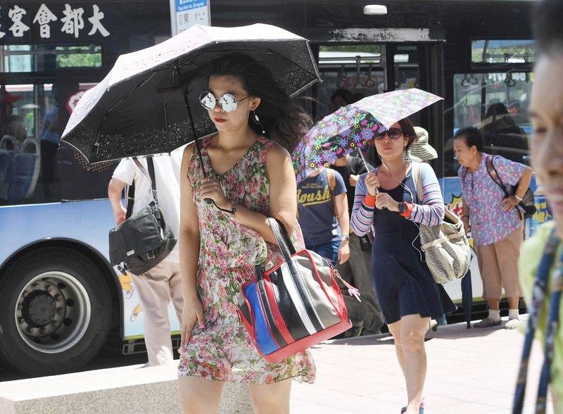 颱風遠颺降雨緩和 大台北繼續高溫