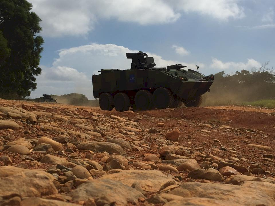 國防部:雲豹甲車零件採購依年度計畫回廠翻修