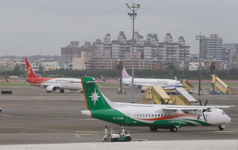天鴿颱風影響 22日國內航班異動多