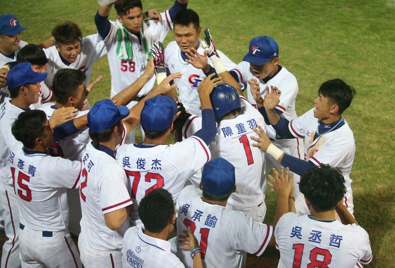世大運棒球/台灣輕取捷克 明贏韓國就晉級