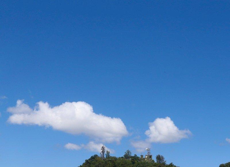 颱風外圍雲系影響 北部高溫南部短暫雨