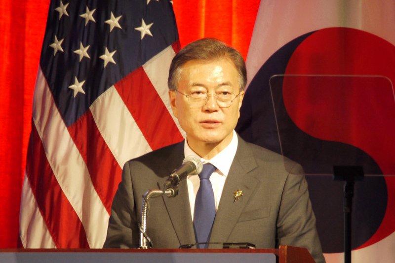 南韓總統文在寅下月21日訪美會拜登