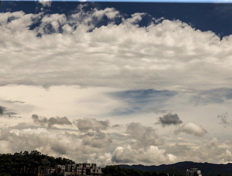 各地多雲到晴 午後中南部局部短暫雷陣雨