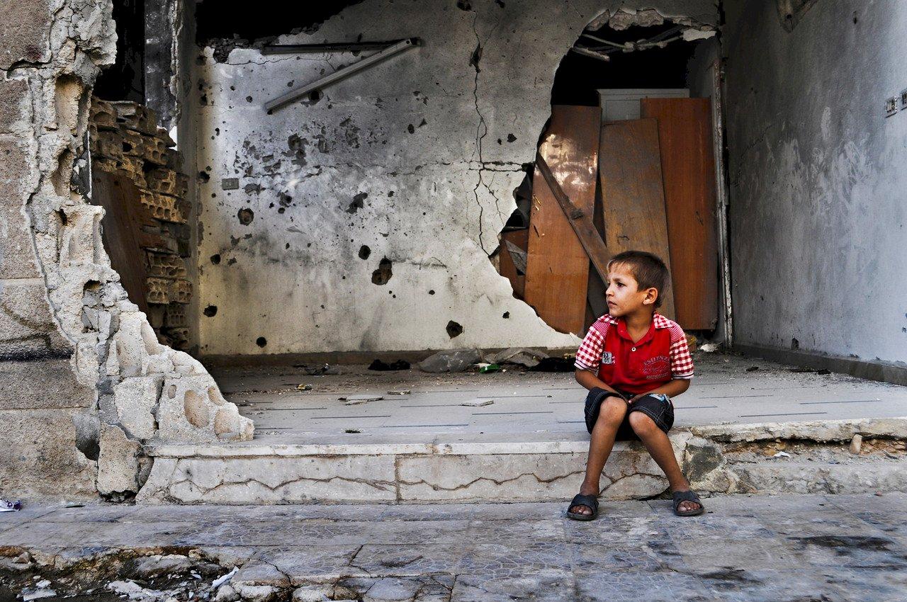 10年內戰兩茫茫 敘利亞孩童看不到未來