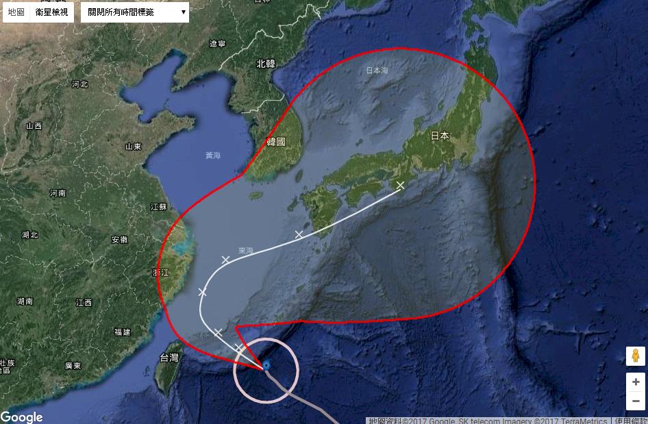 颱風泰利恐襲日 估週末影響九州