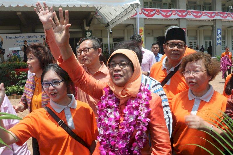 星國首位女總統就職 蔡總統致賀