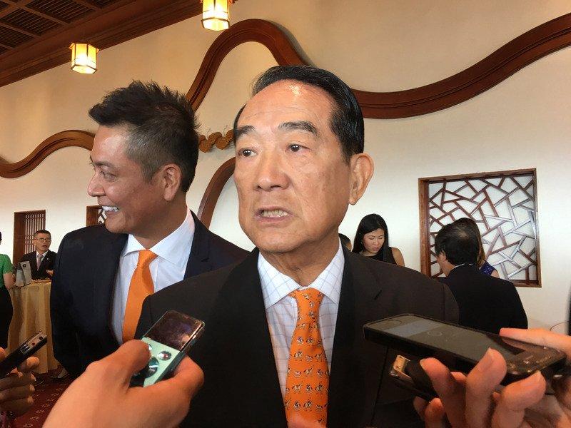宋楚瑜出席APEC  配合新南向推銷台灣