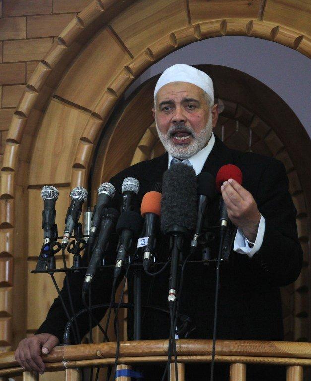 加薩即將抗議美遷使館 哈瑪斯訪埃及