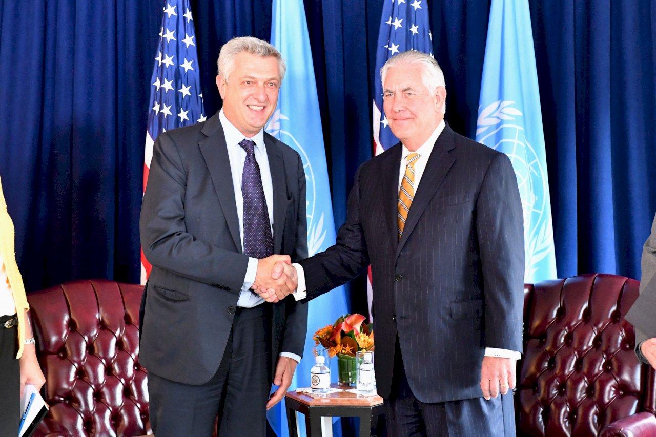 聯合國難民專員:美國資金至關重要