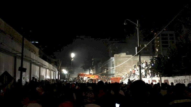 墨西哥地震台商受困 駐處派員現場了解
