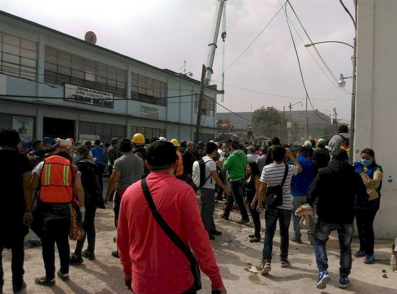墨西哥地震受困台僑 駐處持續確認