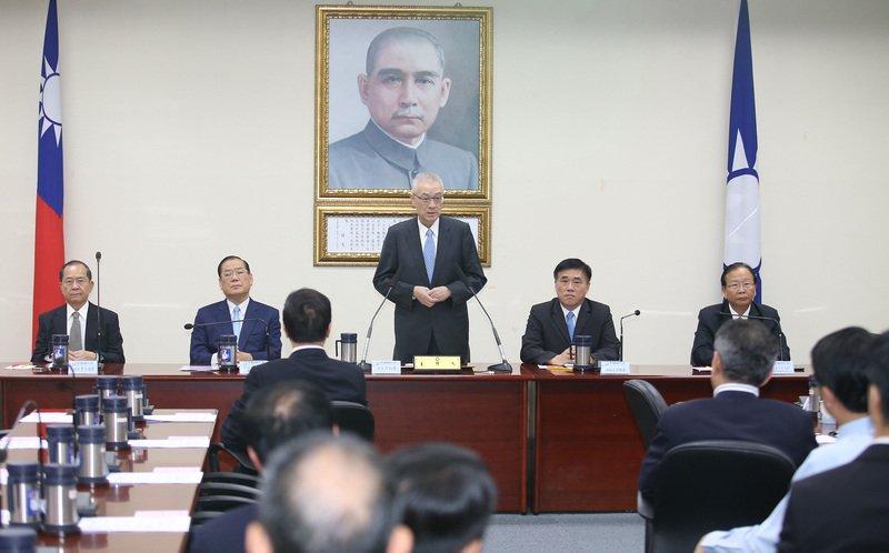 吳敦義:反對任何形式台獨 籲蔡總統說清楚