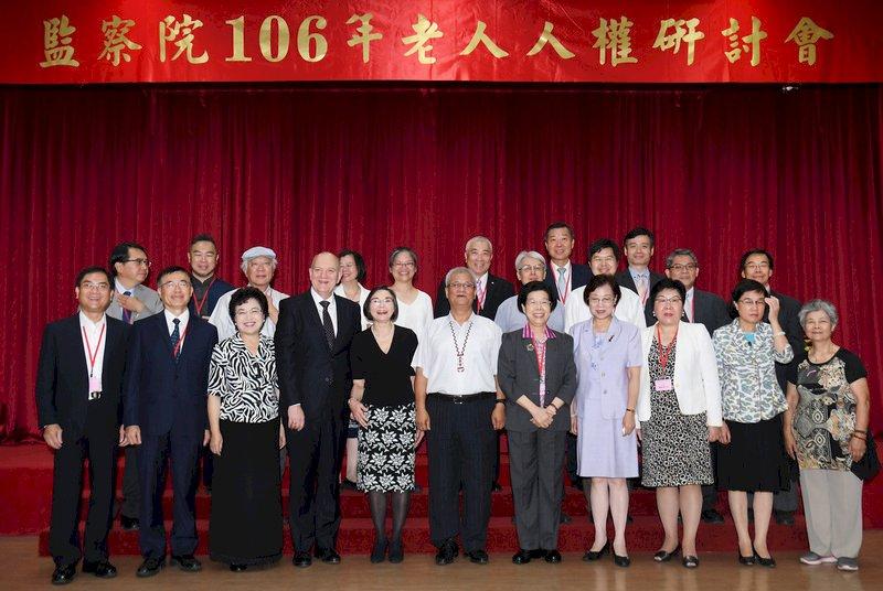 張博雅:高齡社會  老人人權應重視