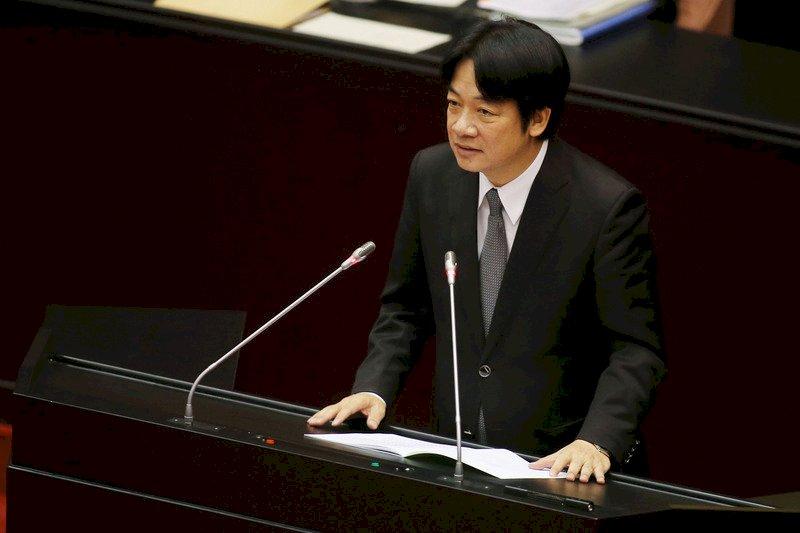 新南向政策 賴揆:盼中國尊重勿搞破壞